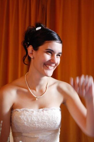 Bezaubernde Braut in Berlin-Lübars