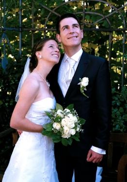 Hochzeitsfotografie im Park