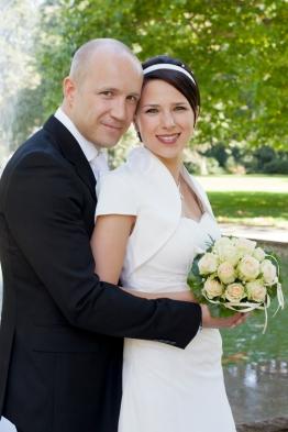 Braut und Bräutigam in Berlin