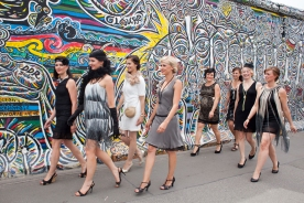 JGA an der Berliner Mauer