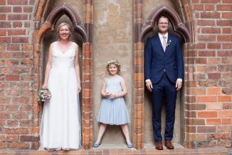 Familienfotos am Hochzeitstag