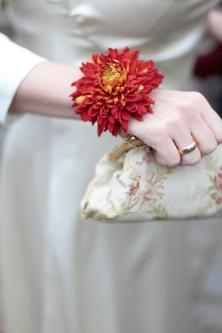 kleine Details wie Ringe und Blumen werden natürlich auch festgehalten