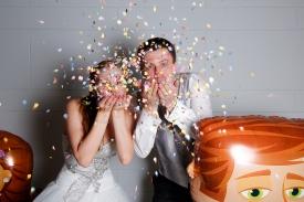 Das Brautpaar sagt Danke!